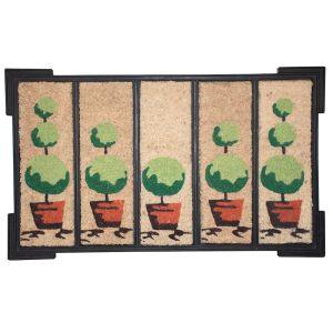 Decorative Tree Coco Door Mat - OVERSTOCK