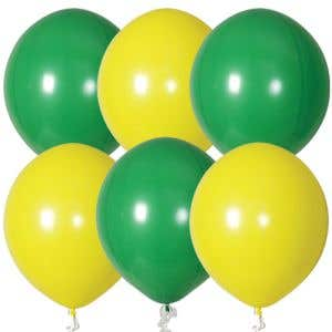 """Yellow and Green Balloons 17"""" - OVERSTOCK"""
