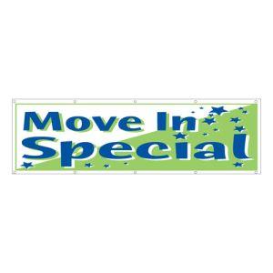 """Move In Specials"" Banner - OVERSTOCK"