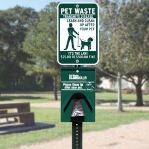 Basic Pet Waste Eliminator Station