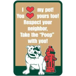 I Love My Pet...Sign