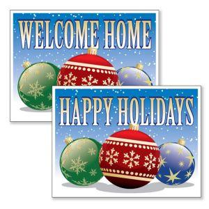 Designer Ornaments Holiday Bandit Sign