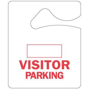Visitor Parking Hang Tag