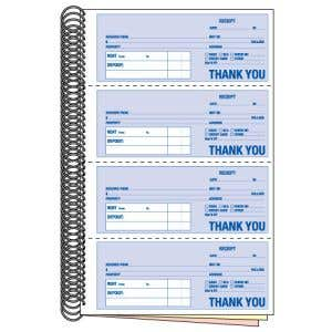 Rent Receipt Book
