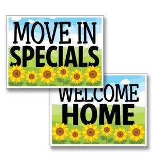 Sunflower Bandit Signs