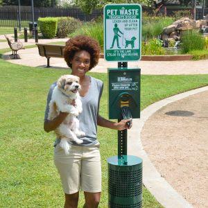 Superior Pet Waste Eliminator Station