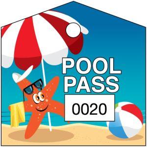 Pool Pass - Sunbathing Starfish - OVERSTOCK