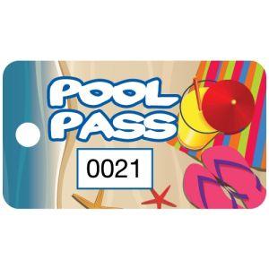 Pool Pass - Summer Vacation - OVERSTOCK