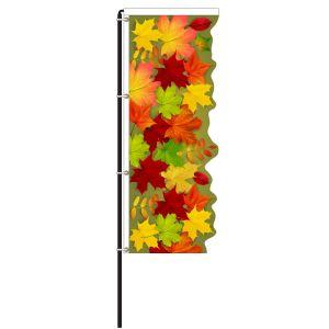Leaves Windless 3D Flag Kit - OVERSTOCK