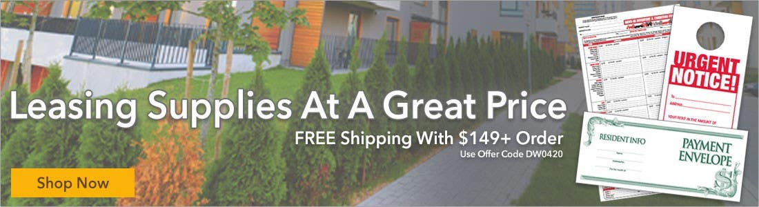 Leasing supplies at a great price - FREE Shipping with $149+ order