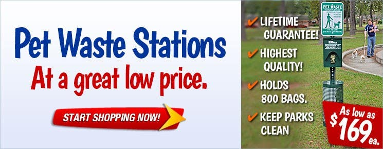 Pet Waste Stations At a Great Low Price