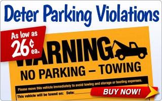 Deter Parking Violations