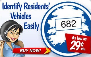 Identify Residents' Vehicles Easily with Parking Permits