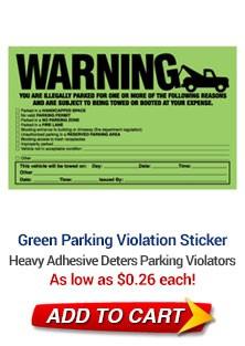 Green Parking Violation